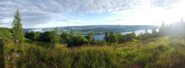 Utsikt fra Kløvstadhøgda.